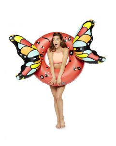 Butterfly Red Wings Inflatable Pool Float