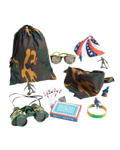 Camouflage Army Pre-Filled Goody Bags