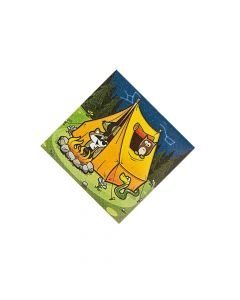 Camp Adventure Beverage Napkins