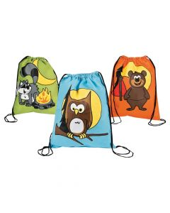 Camp Adventure Drawstring Backpacks