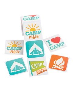 Camp Sticker Rolls