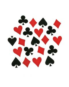 Card Symbol Confetti