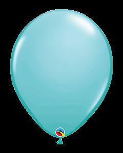 Caribbean Blue 40cm Round Latex Balloon