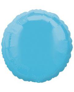 Caribbean Blue Circle Foil Balloon