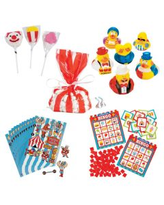Carnival Bingo Prize Kit for 12