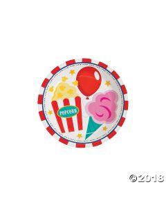 Carnival Paper Dessert Plate