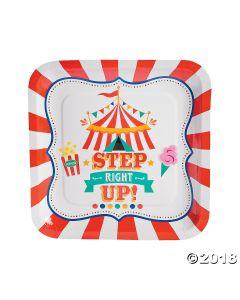 Carnival Paper Dinner Plates