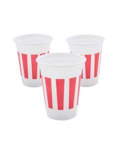 Carnival Plastic Cups - 50 Ct.