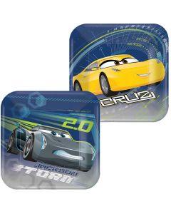 Cars 3 Dessert Plate