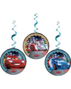Cars 3 Party Favor Dangling Cut Outs