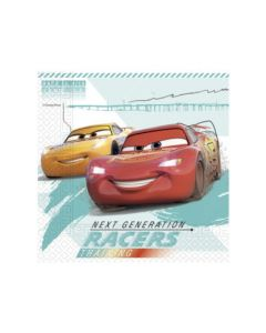 Cars High Speed Paper Plates - Eco Friendly