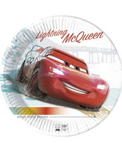 Cars High Speed Plates 23cm - Eco Friendly