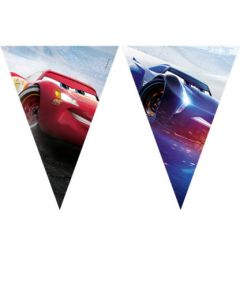 Cars Legend of Track Triangle Flag Banner