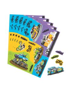 Cars and Trucks Sticker Sheets