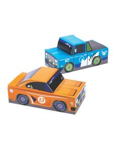 Cars and Trucks Treat Boxes