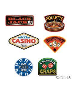 Casino Signs Cutouts