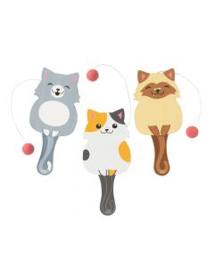 Cat Paddle Ball Games