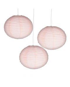 Champagne Hanging Paper Lanterns