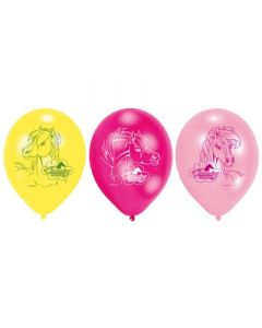Charming Horses Latex Balloons