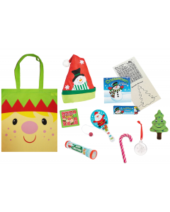 Cheery Christmas Elf Gift Bag