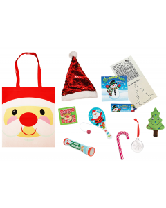 Cheery Christmas Santa Gift Bag