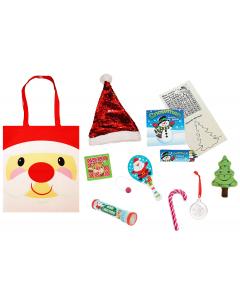 Cheery Christmas Santa Gift Bag