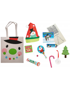 Cheery Christmas Snowman Gift Bag