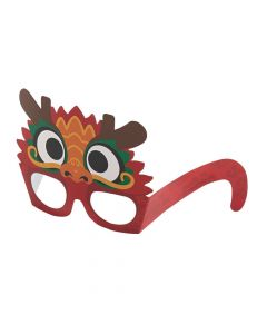 Chinese New Year Dragon Glasses
