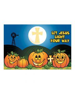 Christian Pumpkin Backdrop Banner