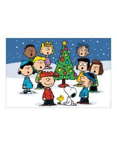 Christmas Peanuts Backdrop