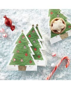 Christmas Tree  Shaped Napkin