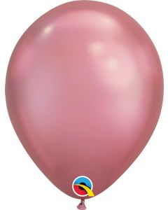 Chrome Mauve 27cm Round Latex Balloon