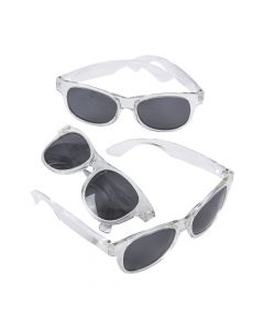 Clear Nomad Sunglasses