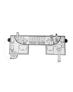 Color Your Own Construction VBS Tool Belts