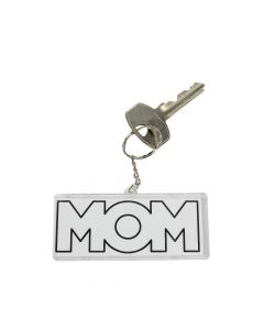 Color Your Own Mom Keychains