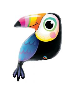 Colorful Toucan Mylar Balloon