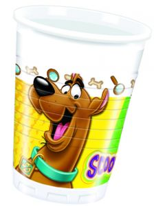 Scooby Doo Colourful Plastic Cups