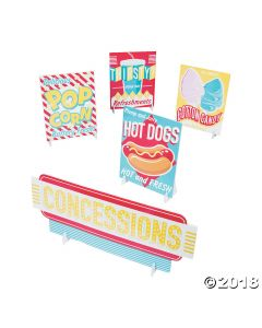 Concessions Signs