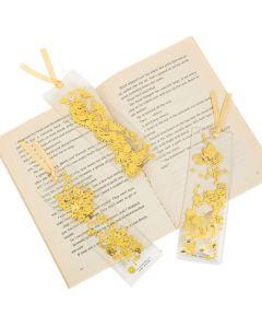 Confetti-Filled Bookmarks
