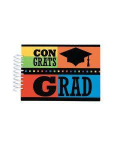 Congrats Grad Autograph Spiral Journals