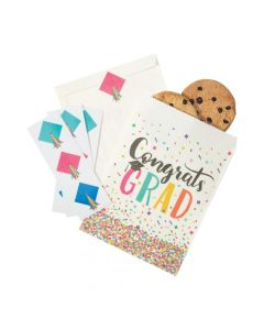 Congrats Grad Party Paper Treat Bags