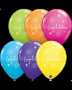 Congratulations Elegant Latex Balloons