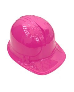 Construction Hat Plastic Pink