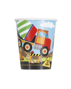 Construction Party Cups