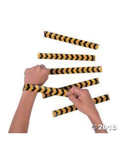Construction Slap Bracelets