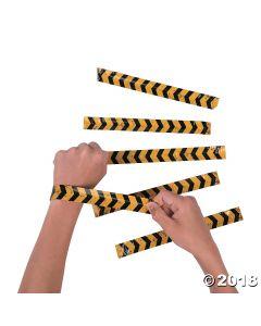 Construction Slap Bracelets