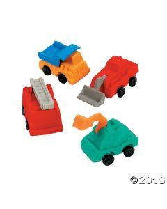 Construction Truck Erasers