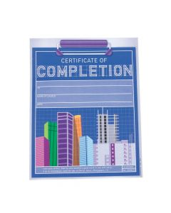 Construction VBS Certificates of Completion