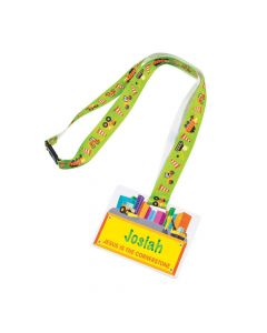 Construction VBS Lanyards