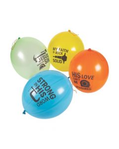 Construction VBS Latex Punch Balls